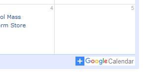 +Google Calendar