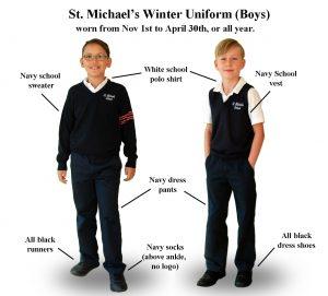 Boys Winter School Uniform